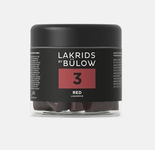 Lakrids No 3 - Red  Small